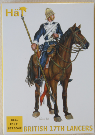 HaT 1/72 HAT8181 British 17th Lancers (Colonial Wars)